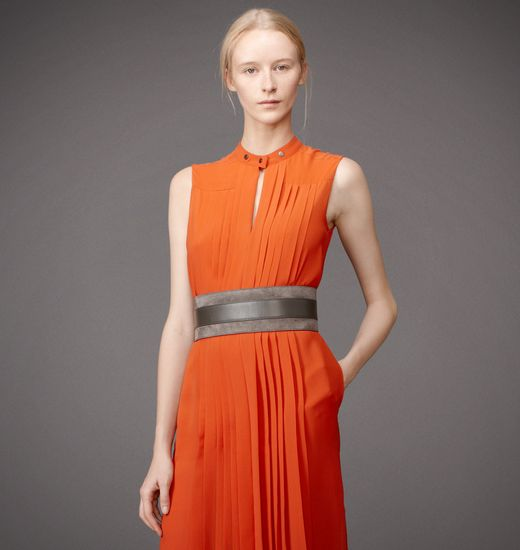 BELSTAFF WOMEN SOUTHGATE DRESS Burnt Orange