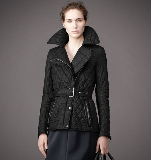BELSTAFF WOMEN GAINSBOROUGH JACKET Black