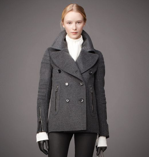 BELSTAFF WOMEN CROFT COAT Charcoal Melange