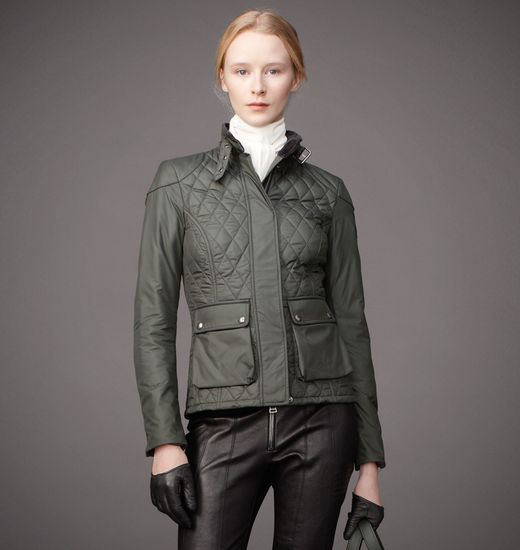 BELSTAFF WOMEN AYNSLEY JACKET Heritage Green