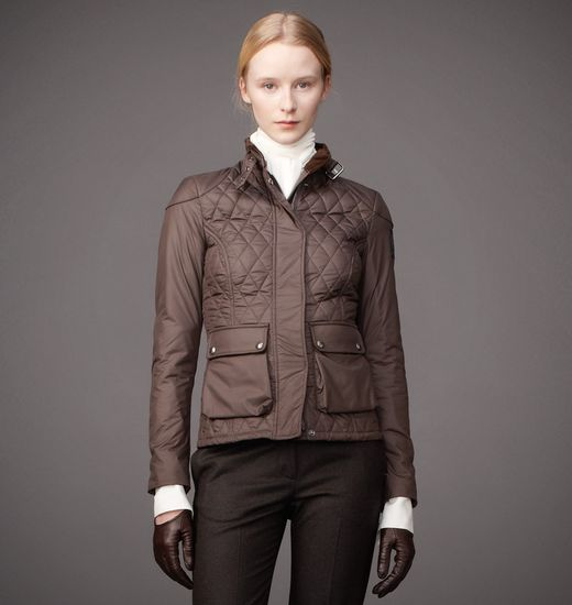 BELSTAFF WOMEN AYNSLEY JACKET Mahogany