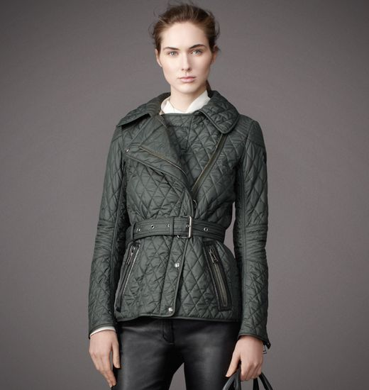 BELSTAFF WOMEN GAINSBOROUGH JACKET Forest