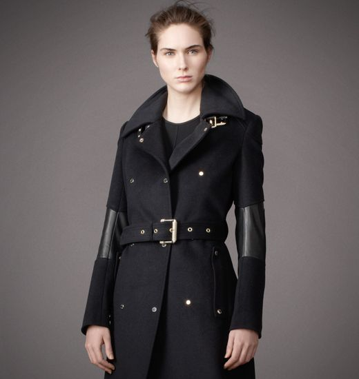 BELSTAFF WOMEN HADLOW COAT Midnight