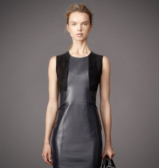 BELSTAFF WOMEN CAMBORNE DRESS Midnight/Black