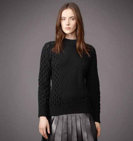 BELSTAFF WOMEN MILTON SWEATER Black