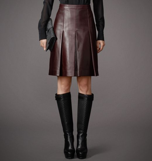 BELSTAFF WOMEN BARTON SKIRT Burgundy