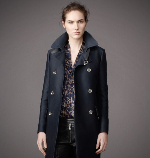 BELSTAFF WOMEN ABBERLEY COAT Midnight