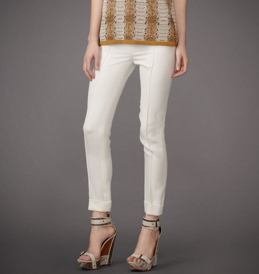 BELSTAFF WOMEN WINSLOW PANT Sunbleached White