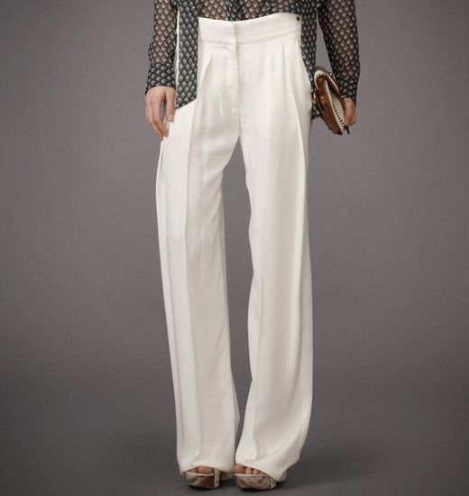 BELSTAFF WOMEN HEATH PANT Sunbleached White