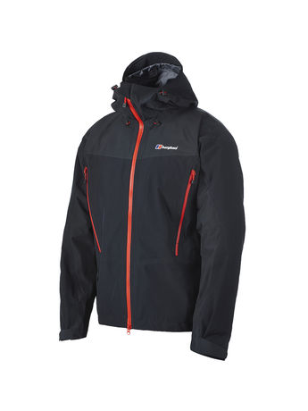 BERGHAUS MENS CIVETTA 3-LAYER GORE-TEX® PRO JACKET Black/Black