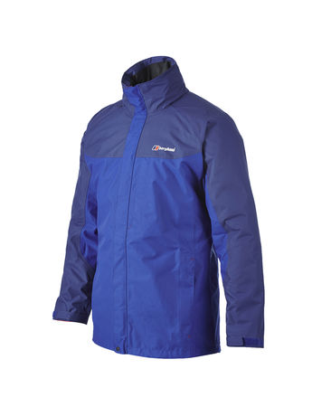 BERGHAUS MENS RG GAMMA LONG WATERPROOF JACKET Blue / Twilight Blue