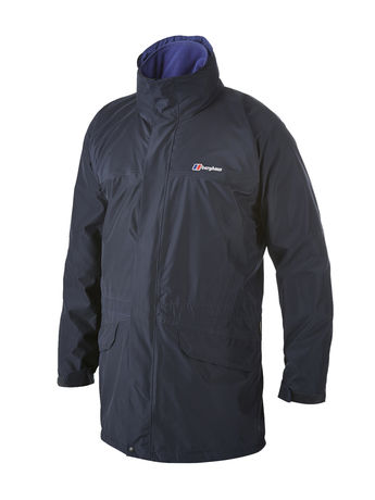 BERGHAUS MENS LONG CORNICE II GORE-TEX® JACKET Eclipse