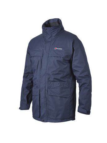 BERGHAUS MENS TORNADO WATERPROOF JACKET Eclipse