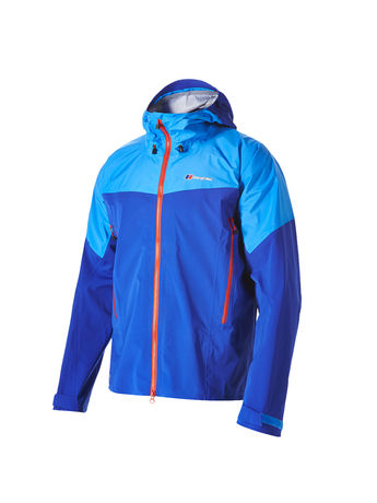 BERGHAUS MENS MOUNT ASGARD STRETCH GORE-TEX® ACTIVE JACKET Intense Blue / Blue Aster