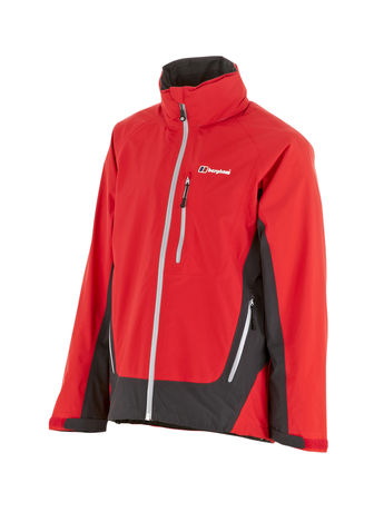 BERGHAUS MENS CARROCK GORE-TEX® JACKET Extrem Red / Thunder