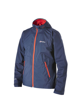 BERGHAUS MENS STORMCLOUD WATERPROOF JACKET Mood Indigo