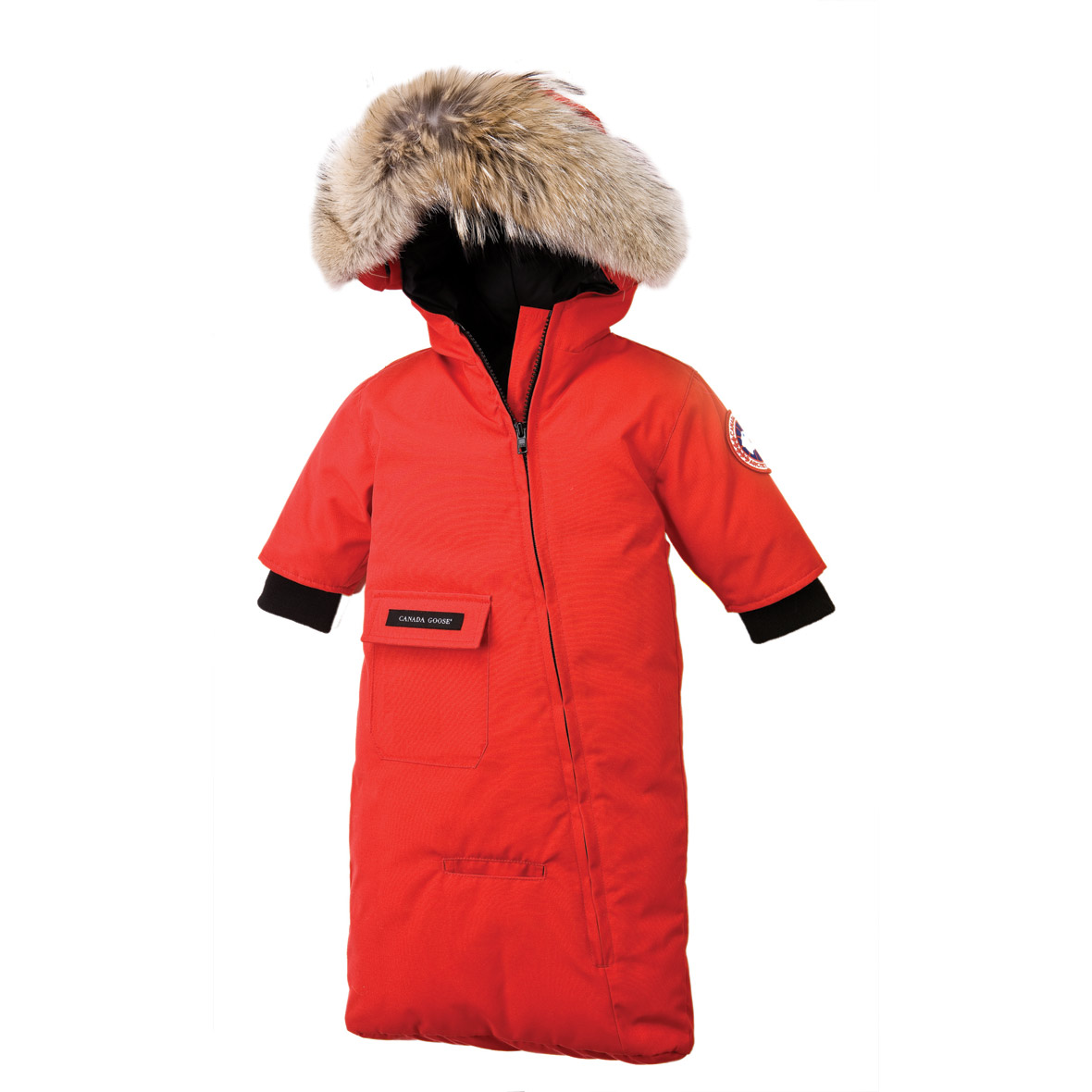 Canada Goose Infant [3M-12M] Bunting RED