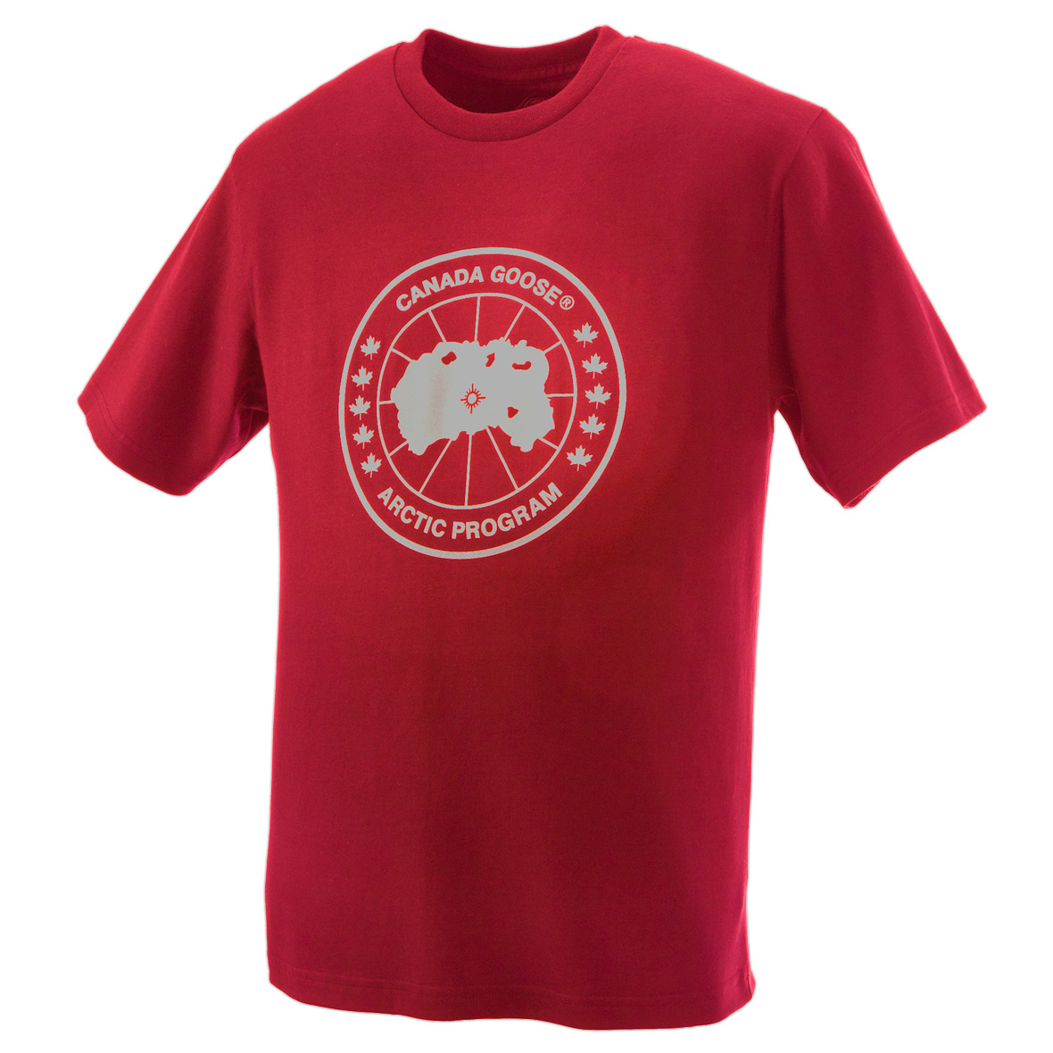 Canada Goose Logo T-Shirt RED For Women