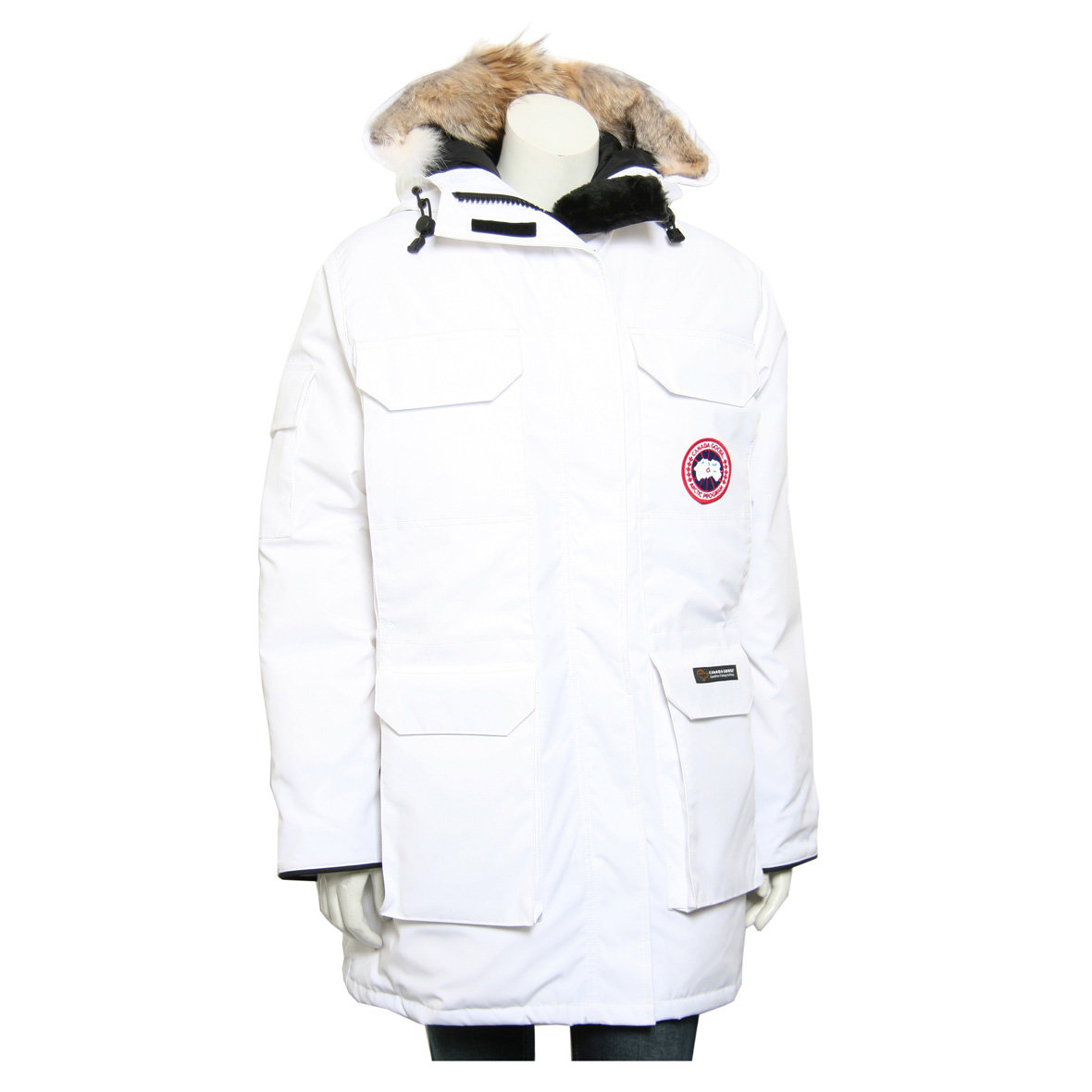 Canada Goose Expedition Parka WHITE For Women