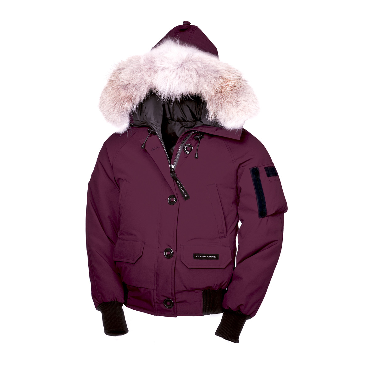 Canada Goose Chilliwack Bomber BERRY For Women