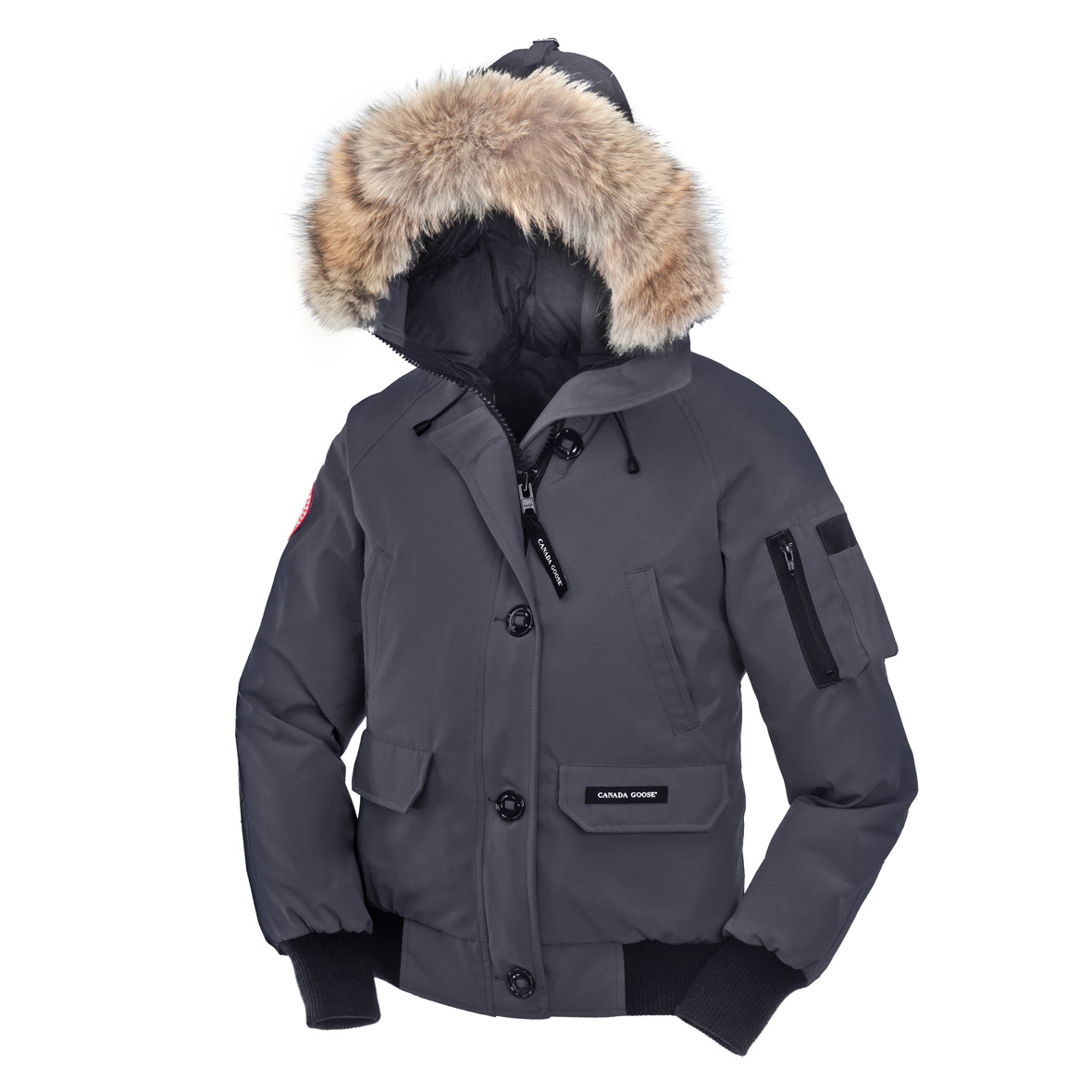 Canada Goose Chilliwack Bomber MID GREY For Women