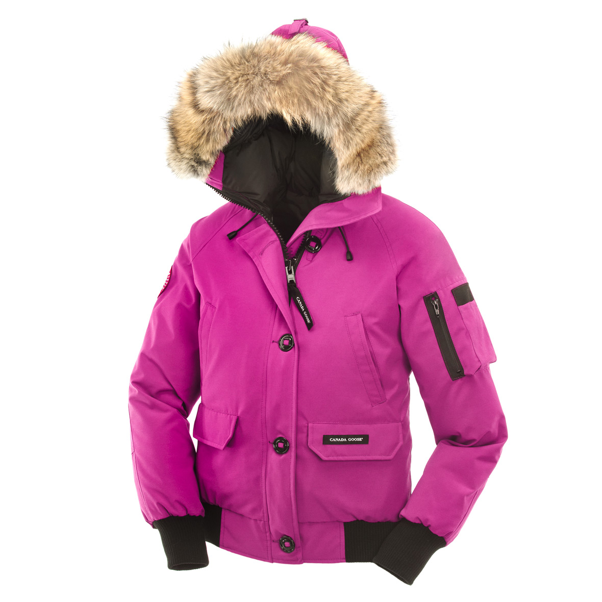 Canada Goose Chilliwack Bomber SUMMIT PINK For Women