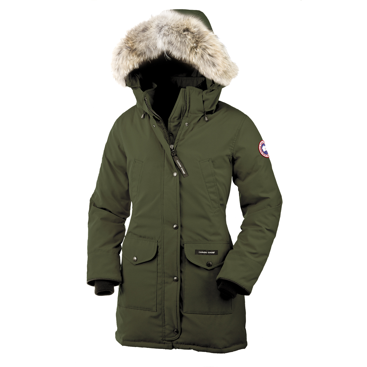 Canada Goose Trillium Parka MILITARY GREEN For Women