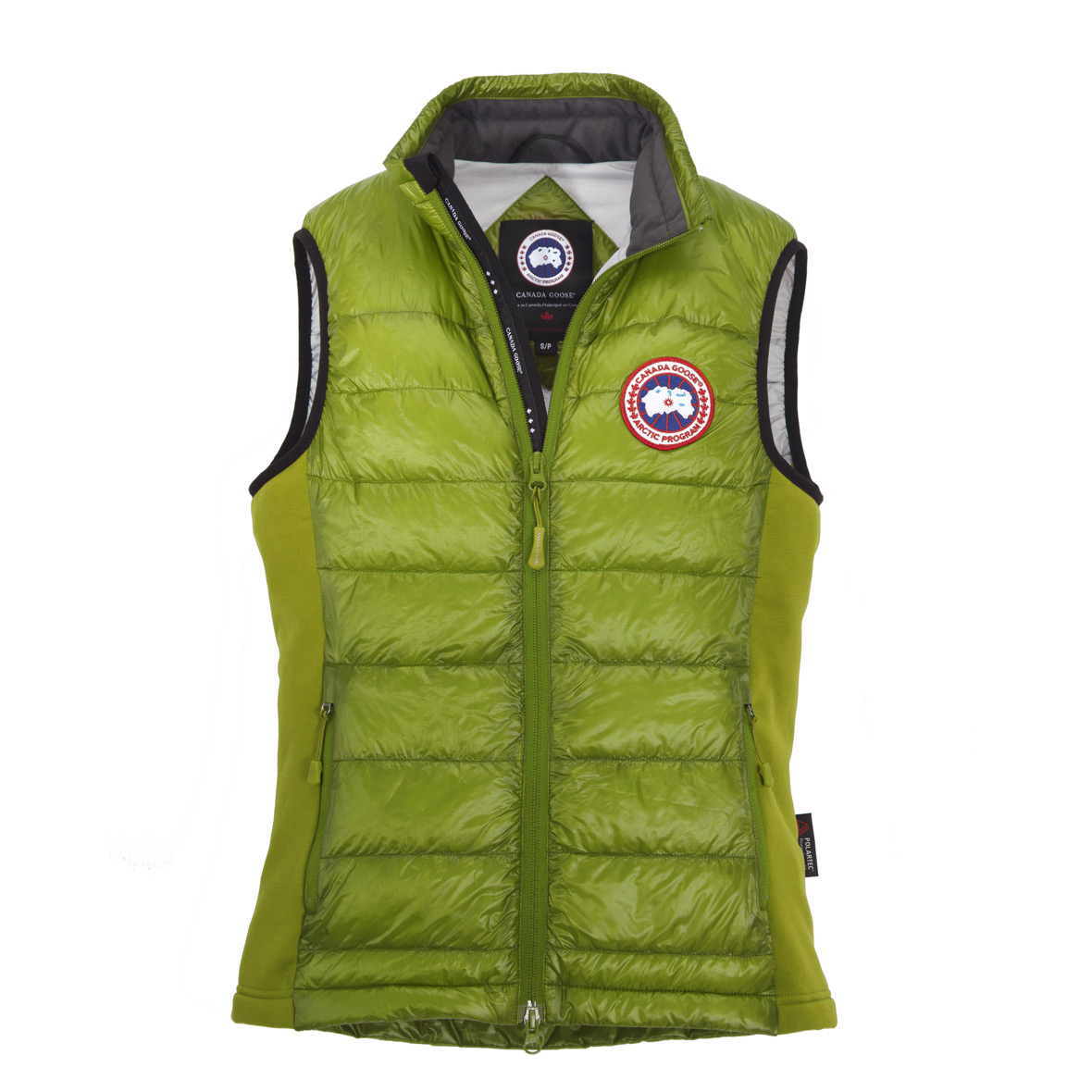 Canada Goose Hybridge Lite Vest AURORA GREEN For Women