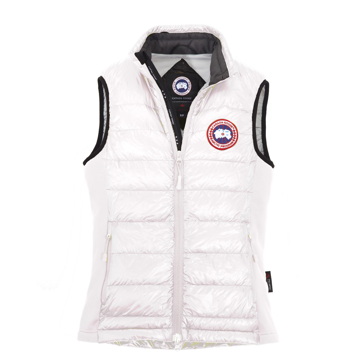 Canada Goose Hybridge Lite Vest WHITE For Women