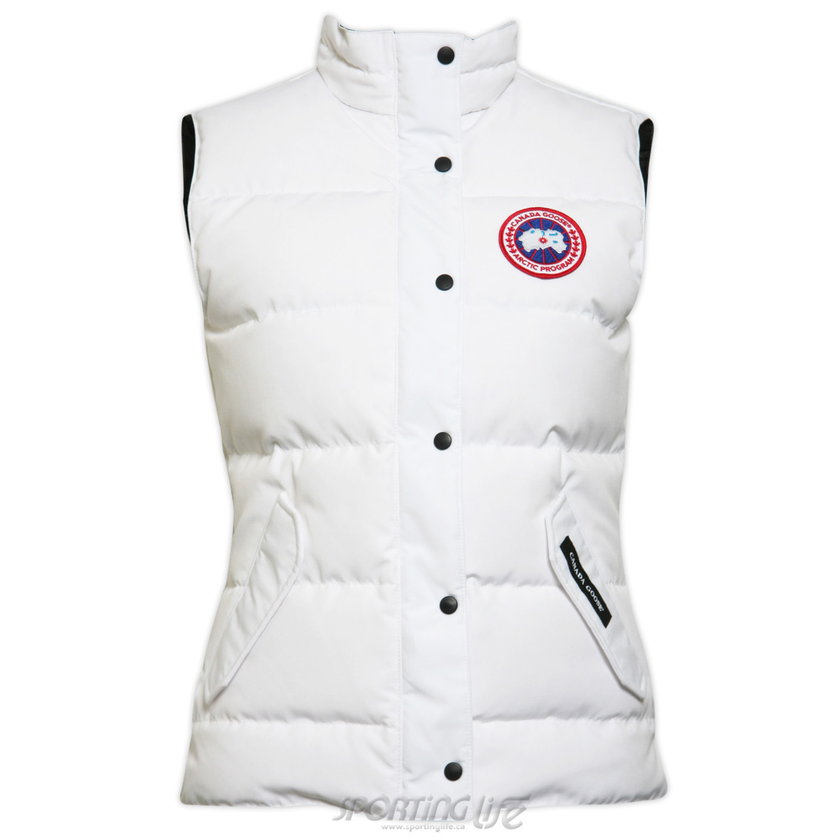 Canada Goose Freestyle Vest WHITE For Women