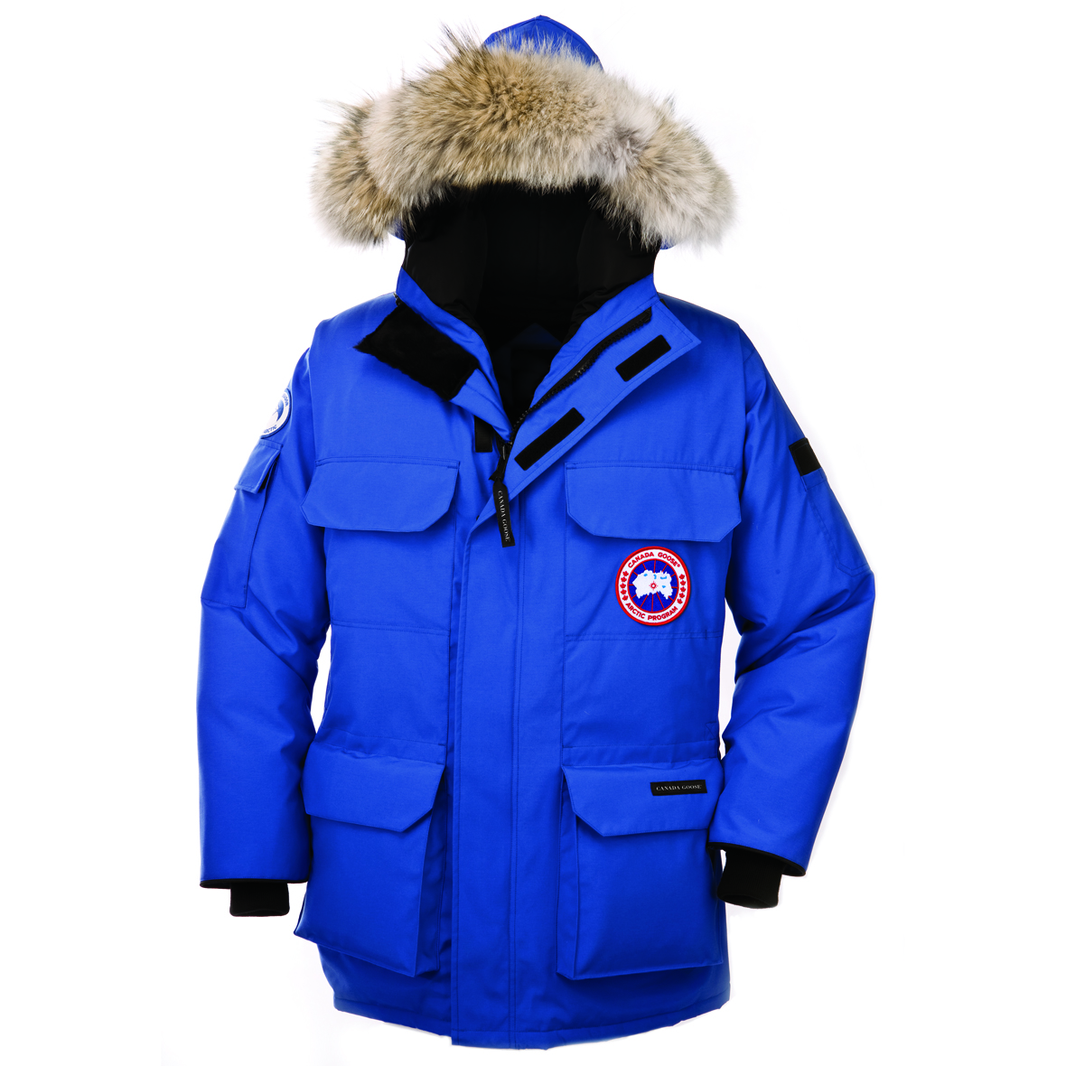 Canada Goose Polar Bears International Expedition Parka PBI BLUE For Women