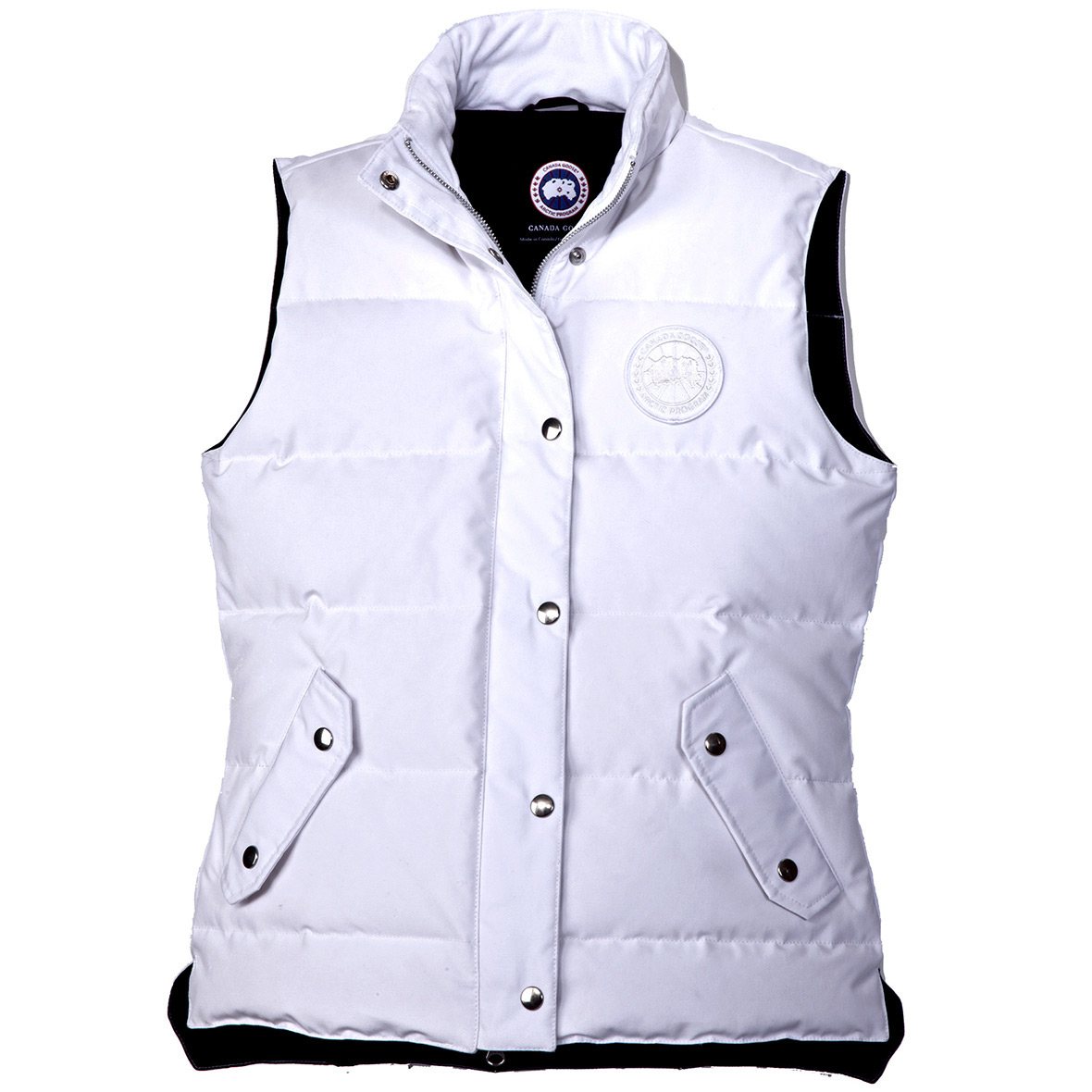 Canada Goose Granby Vest WHITE For Women