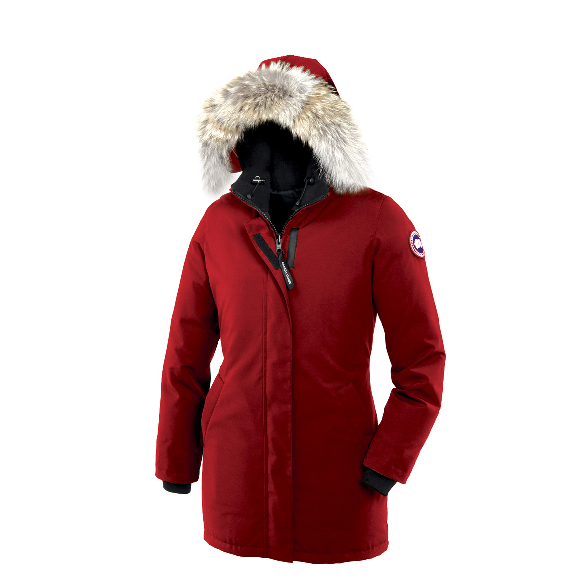 Canada Goose Victoria Parka RED For Women