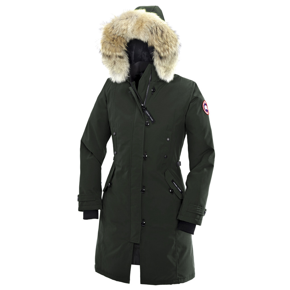 Canada Goose Kensington Parka FOREST GREEN For Women