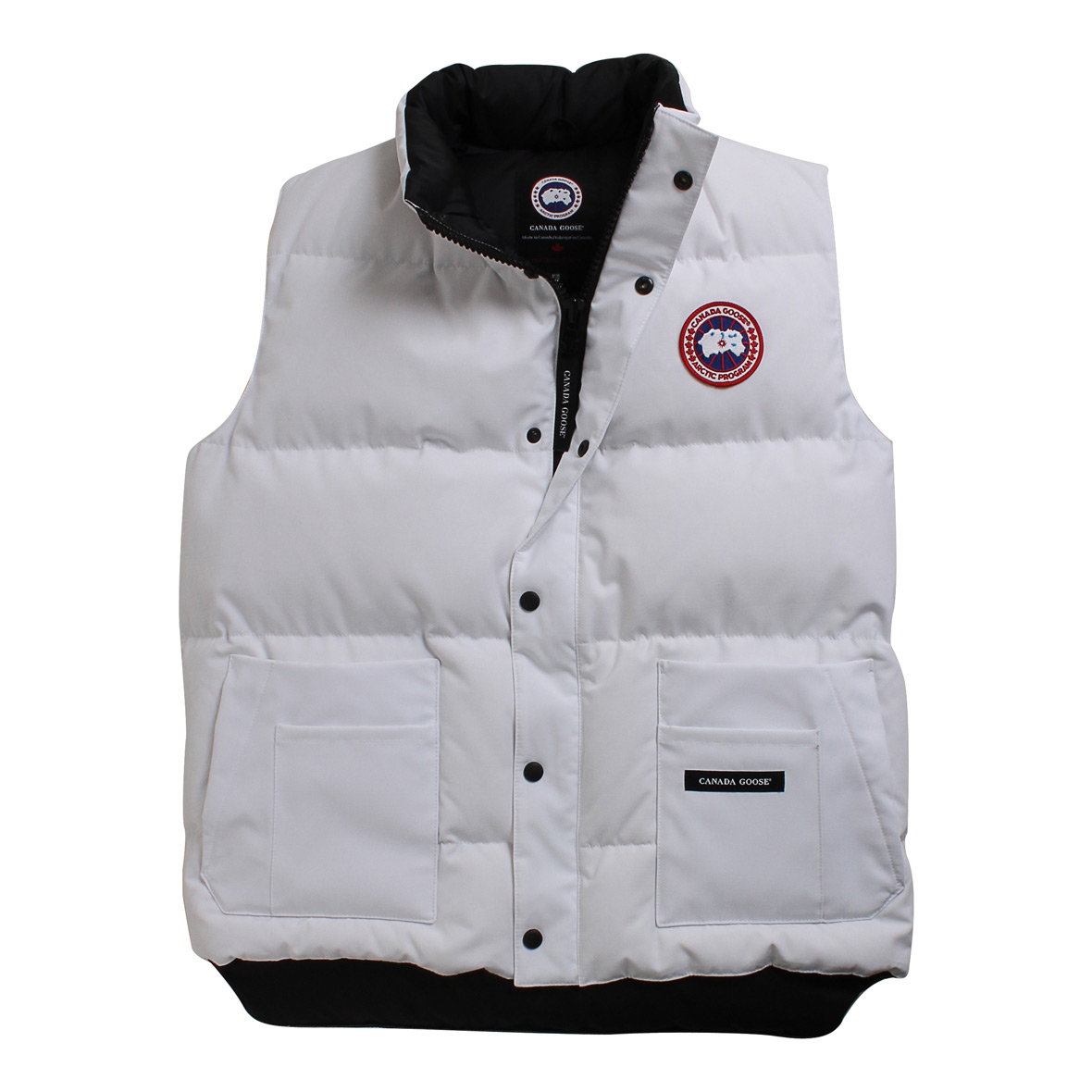 Canada Goose Freestyle Vest WHITE For Men