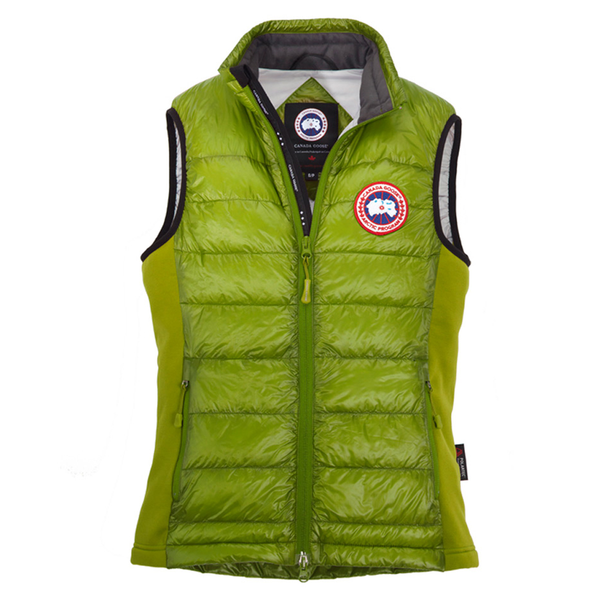Canada Goose Hybridge Lite Vest AURORA GREEN For Men