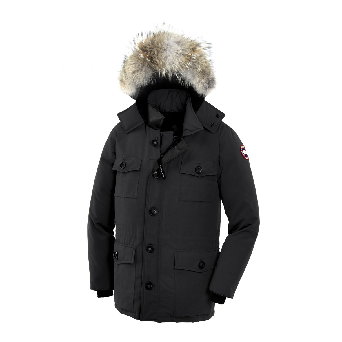 Canada Goose Banff Parka BLACK For Men