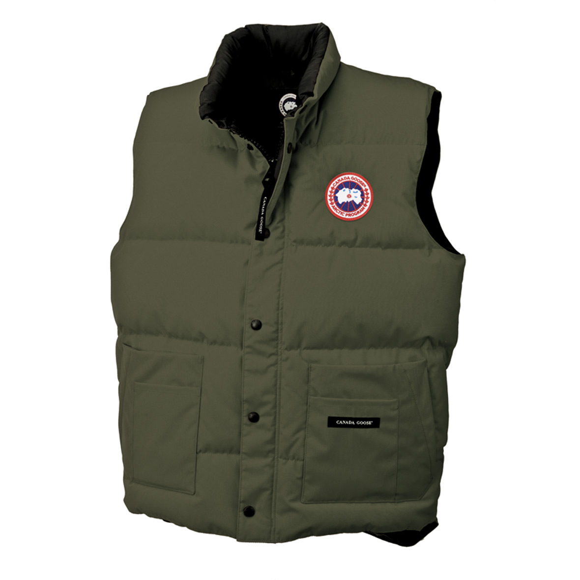 Canada Goose Freestyle Vest MILITARY GREEN For Men