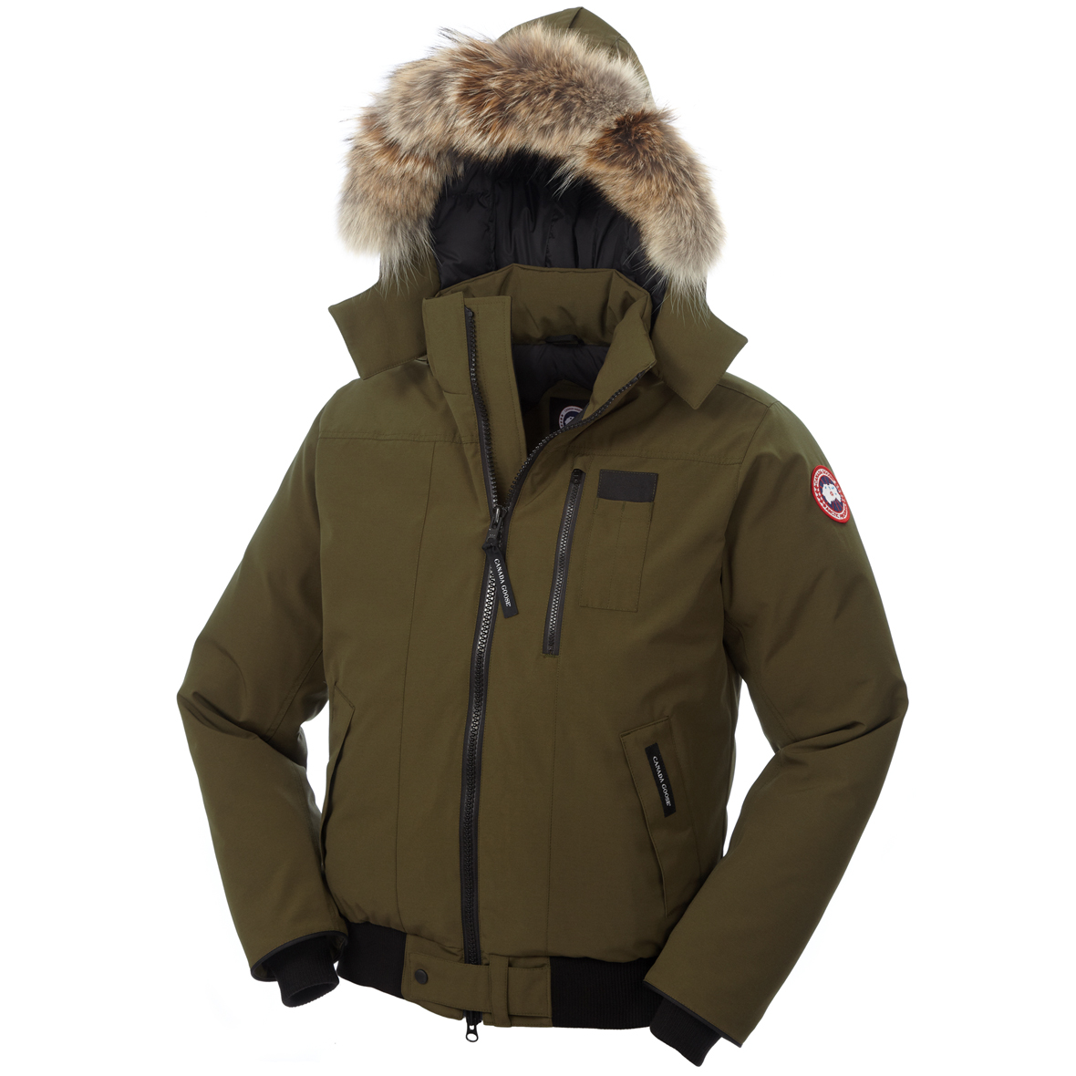 Canada Goose Borden Bomber MILTTARY GREEN For Men