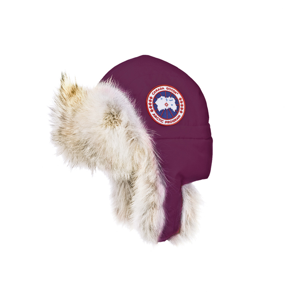 Canada Goose Unisex Aviator Hat BERRY For Men