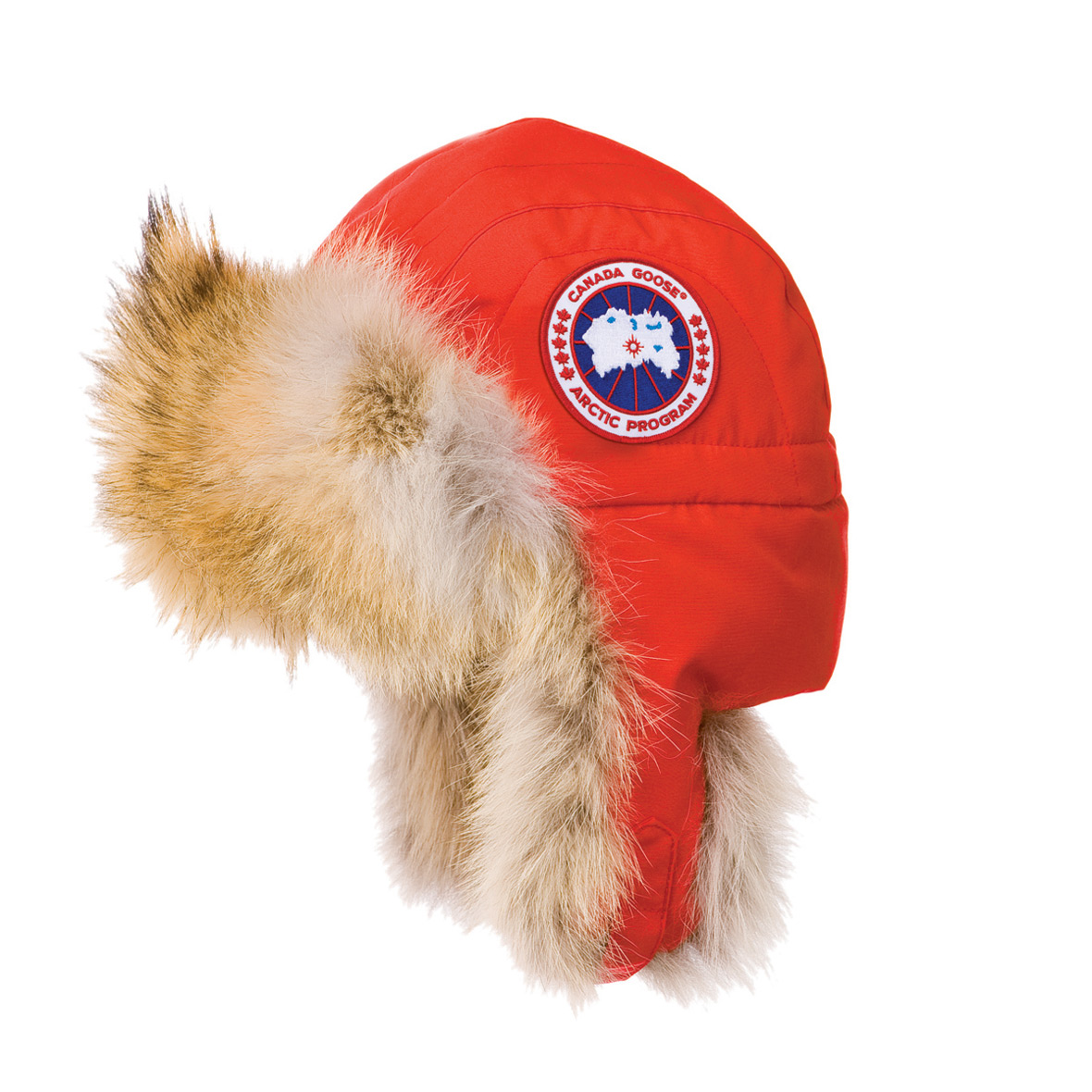 Canada Goose Unisex Aviator Hat RED For Men