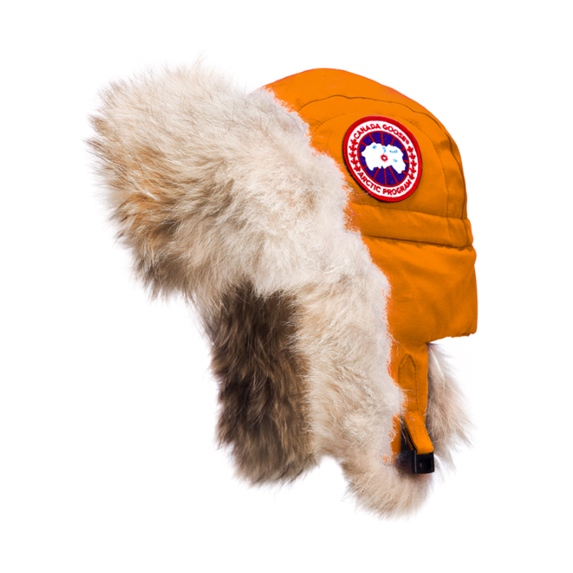 Canada Goose Unisex Aviator Hat SUNSET ORANGE For Men