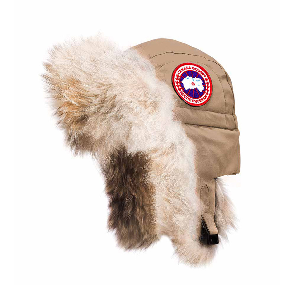Canada Goose Unisex Aviator Hat TAN For Men