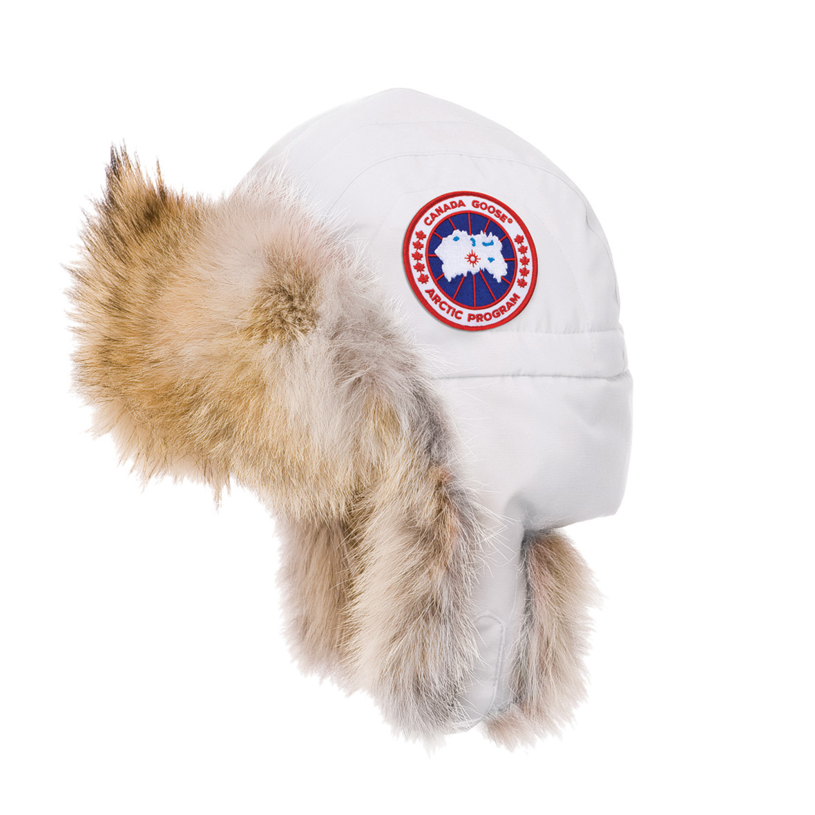 Canada Goose Unisex Aviator Hat WHITE For Men
