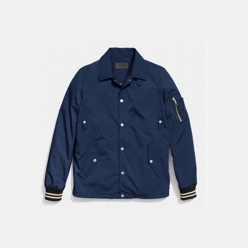 COACH COLLECTION track jacket NAVY