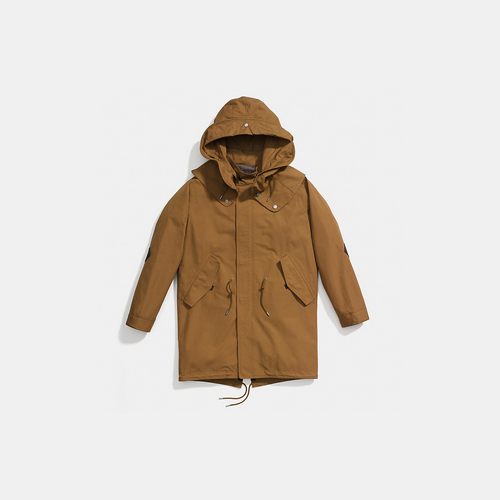 COACH COLLECTION parka TAN