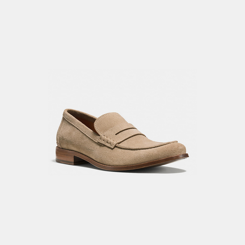COACH GRAMERCY penny loafer ANTELOPE