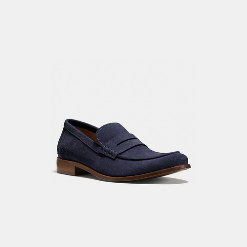 COACH GRAMERCY penny loafer MIDNIGHT NAVY