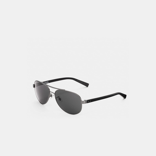 COACH THOMPSON sunglasses GUNMETAL/BLACK