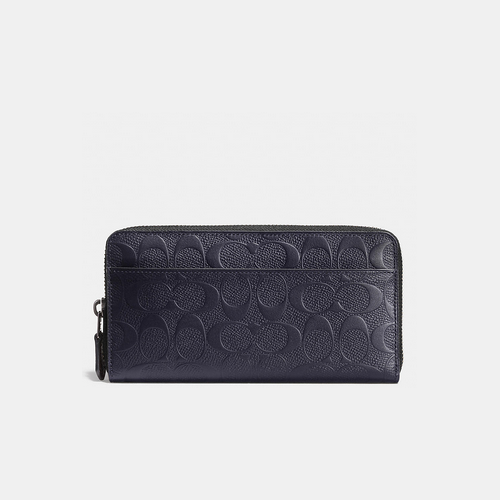 COACH ACCORDION wallet MIDNIGHT